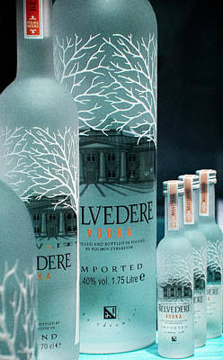 Photograph - Belvedere Vodka Still Life by Ben and Raisa Gertsberg