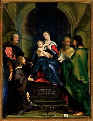 Bembo Giovan Francesco, Madonna Art Print