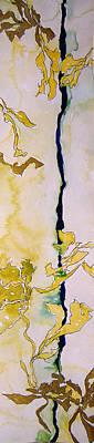 Ben And Jewel Panel I Art Print by Sandra Gail Teichmann-Hillesheim