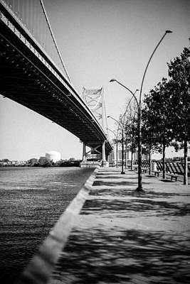 Ben Franklin Bridge @ Arch Street Pier Original