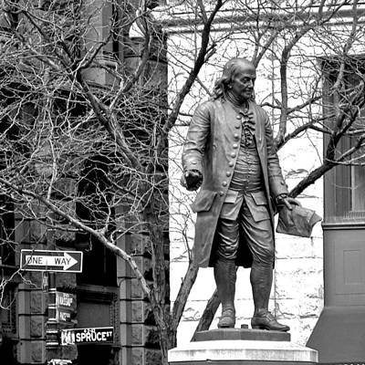 Photograph - Ben Franklin by Eric Tressler