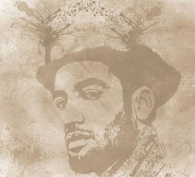 Ben Harper Music Man Original by Dan Sproul
