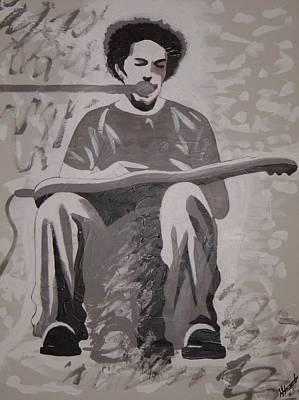 Ben Harper Painting - Ben Harper by Stacey Austin