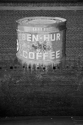 Photograph - Ben Hur Coffee by Peter Tellone
