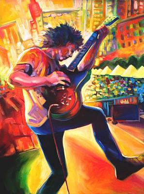 Live Music Drawing - Ben Kweller by Steve Hunter