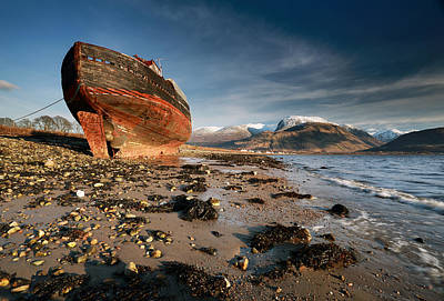 Scotland Photograph - Ben Nevis by Grant Glendinning
