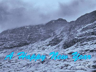 Photograph - Ben Nevis Happy New Year Greeting by Joan-Violet Stretch