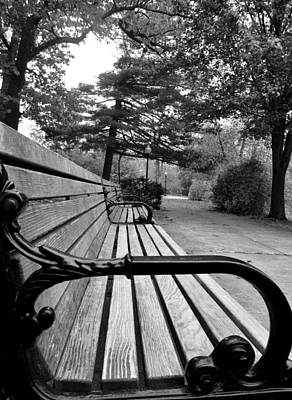 Photograph - Bench by CJ Rhilinger