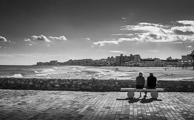 Photograph - Bench Love by Gary Gillette