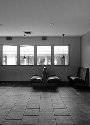 Photograph - Bench Seating by David Pantuso