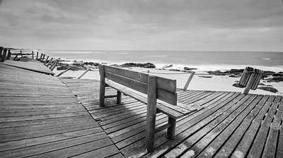 Photograph - Bench With Swirl by Bruno Rosa
