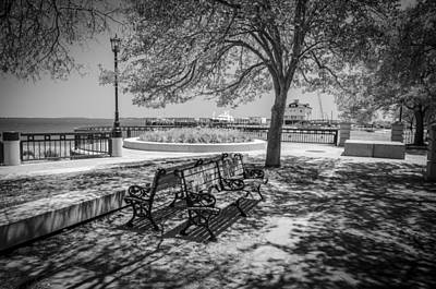 Photograph - Benches by Dutch Ducharme