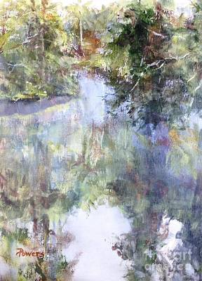 Painting - Bend In The River by Mary Lynne Powers