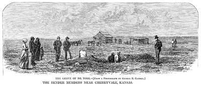 Bender Murders, 1873 Art Print by Granger