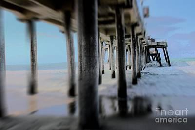 California Photograph - Beneath Pier by RJ Aguilar