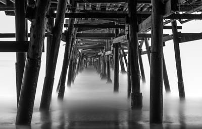 Beneath The Pier Art Print by Tassanee Angiolillo