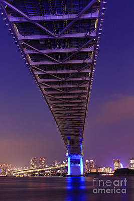 Photograph - Beneath The Rainbow Bridge In Tokyo by Beverly Claire Kaiya