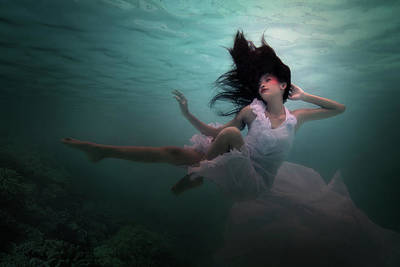 Bride Photograph - Beneath The Sea by Martha Suherman