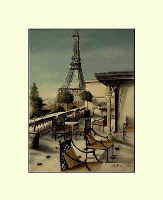 Beneath The Tower   Number 11 Art Print by Diane Strain