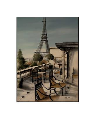 Beneath The Tower   Number 9 Art Print by Diane Strain