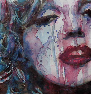 Blonde Painting - Beneath Your Beautiful by Paul Lovering