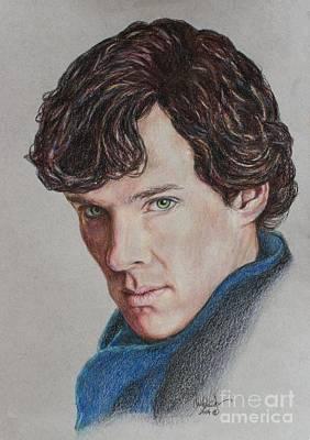 Benedict Cumberbatch Print by Christine Jepsen