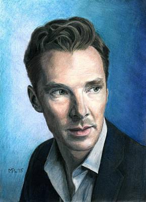 Benedict Cumberbatch Art Print by Mariana Po