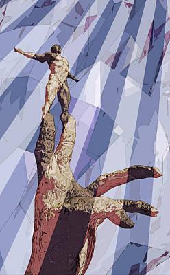 Art Print featuring the digital art Benediction by Matt Lindley