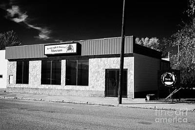 bengough and district museum Saskatchewan Canada Art Print by Joe Fox