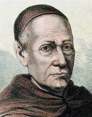 Religious Art Photograph - Benito Jeronimo Feijoo (casdemiro by Prisma Archivo