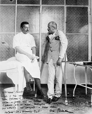 Dictator Photograph - Benito Mussolini (1883-1945) by Granger