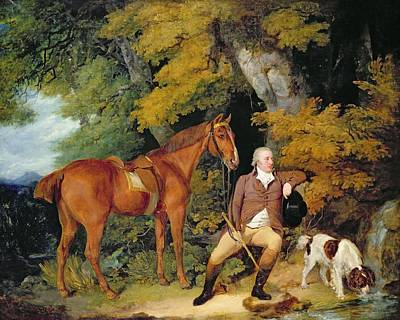 Springer Painting - Benjamin Bond Hopkins, Before 1791 by Francis Wheatley