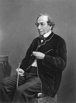 Foreign Photograph - Benjamin Disraeli by Underwood Archives