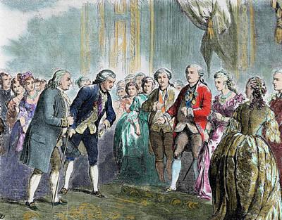 Benjamin Franklin (1706-1790 Print by Prisma Archivo