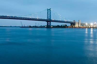 Photograph - Benjamin Franklin Bridge by Keith Swango