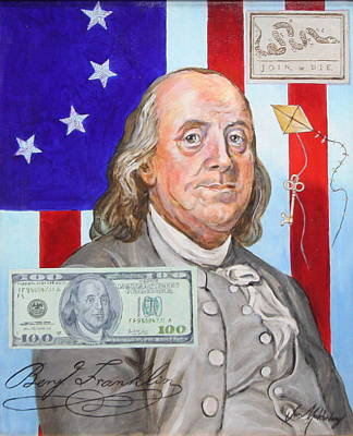 Benjamin Franklin  Original by Jan Mecklenburg
