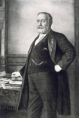 President Of The Usa Painting - Benjamin Harrison  by American School