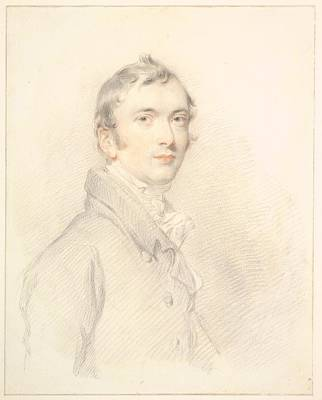 Benjamin Drawing - Benjamin Rouse, Junior by Sir Thomas Lawrence