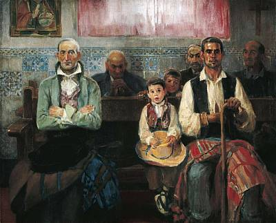 Benlliure Ortiz, Jos� 1884-1916. Mass Art Print