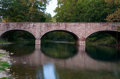 Photograph - Bennett Bridge by Steve Stuller