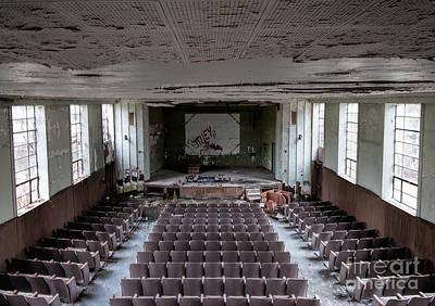 Photograph - Bennett School Theater by Rick Kuperberg Sr