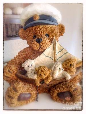 Photograph - Benno Bear by Susan Garren
