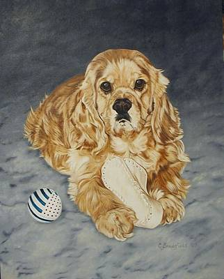 Painting - Benny by Cynthia Brassfield