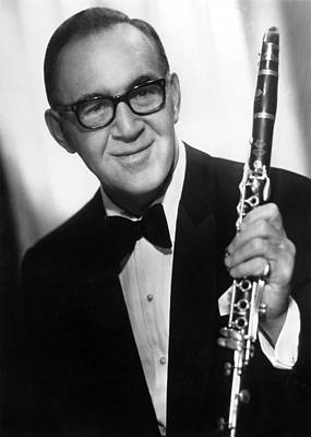 Benny Goodman (1909-1986) Art Print by Granger
