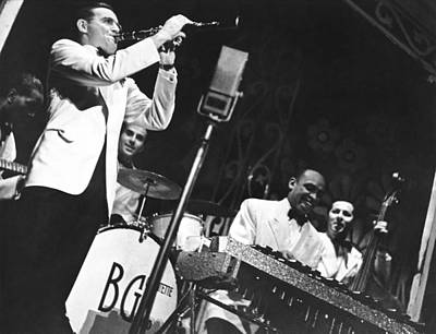 Benny Goodman Quartet Art Print