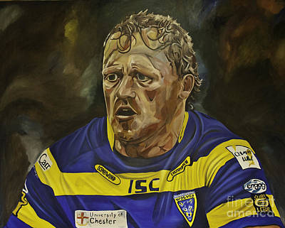 Painting - Benny Westwood by James Lavott