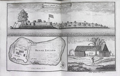 Slaves Photograph - Bense Island by British Library