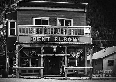 Bordello Photograph - Bent Elbow by Janice Rae Pariza