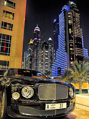 Photograph - Bentley Mulsanne by Graham Taylor