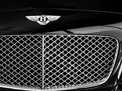 Featured Images Photograph - Bentley Palm Springs by William Dey